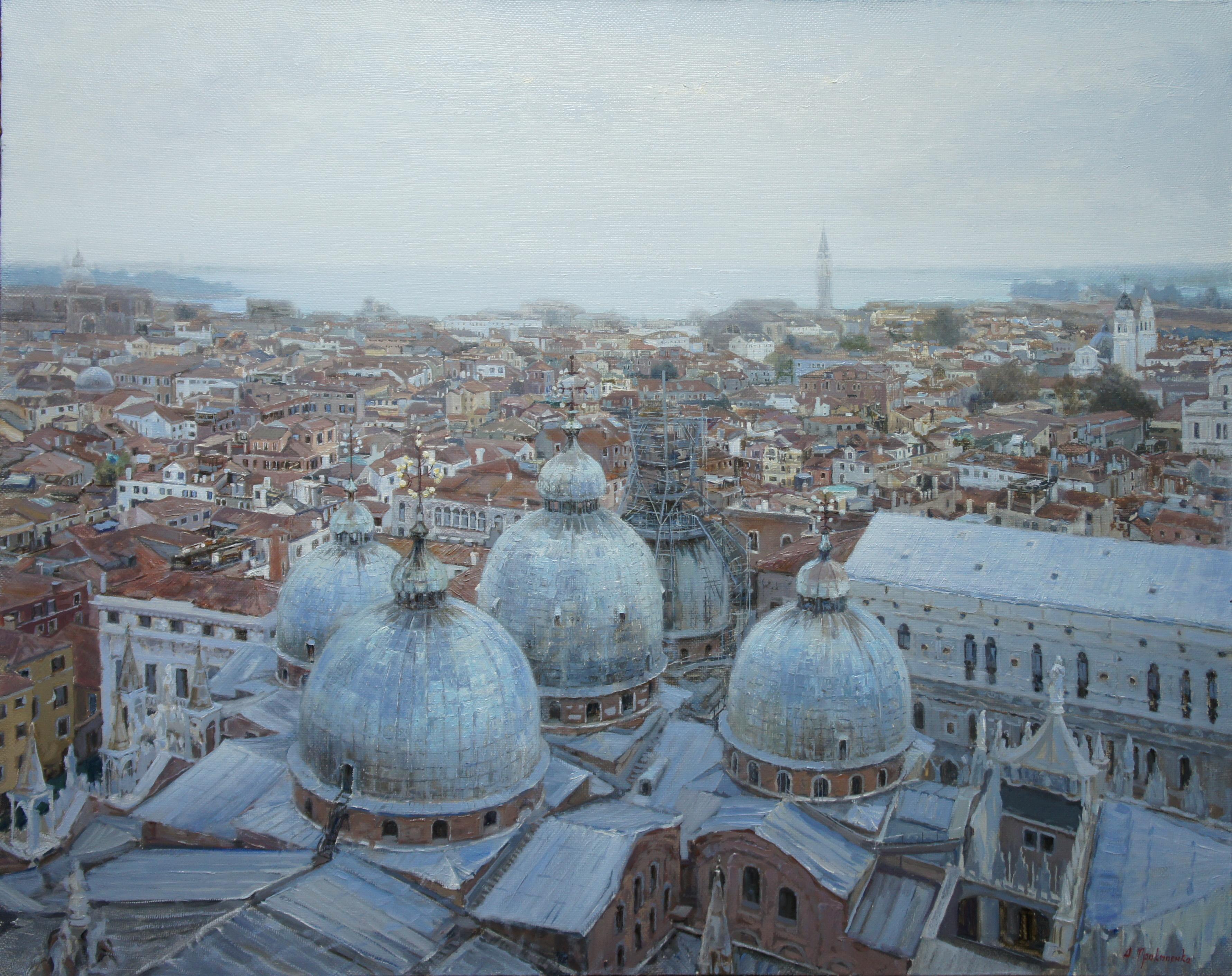 ,,Панорама Венеции,, х.м 80х100 2014г.
