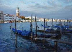 ,,Причал. Венеция,, х.м 60х80 2013г.