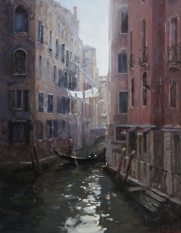 ,,Уголок Венеции,, х.м 40х50 2012г.