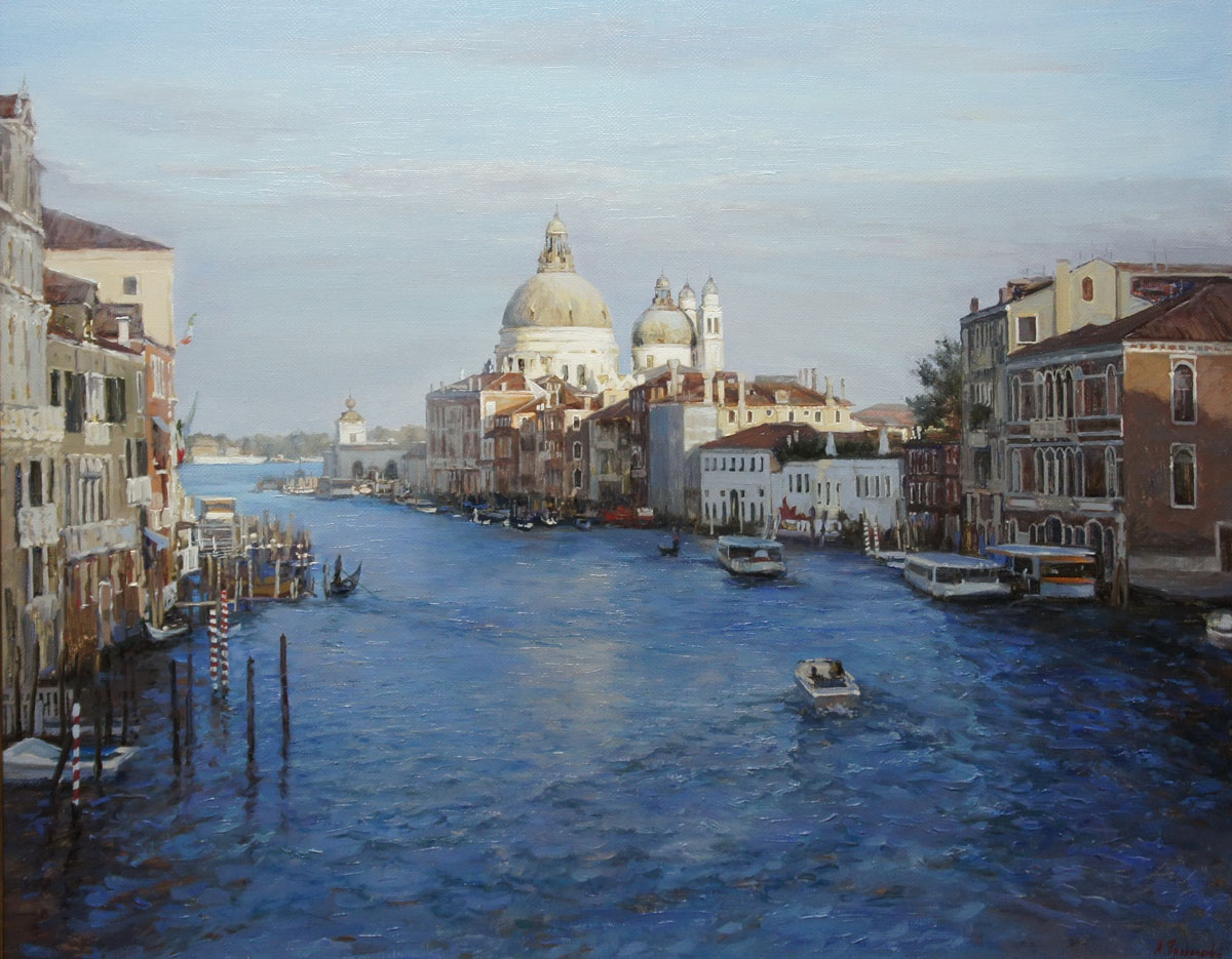 ,,Гранд-канал Венеция,, х.м 100х80 2013г.