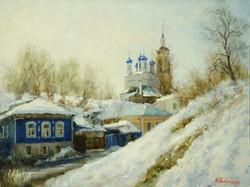 Весна в Боровске х.м30х40 2011г.