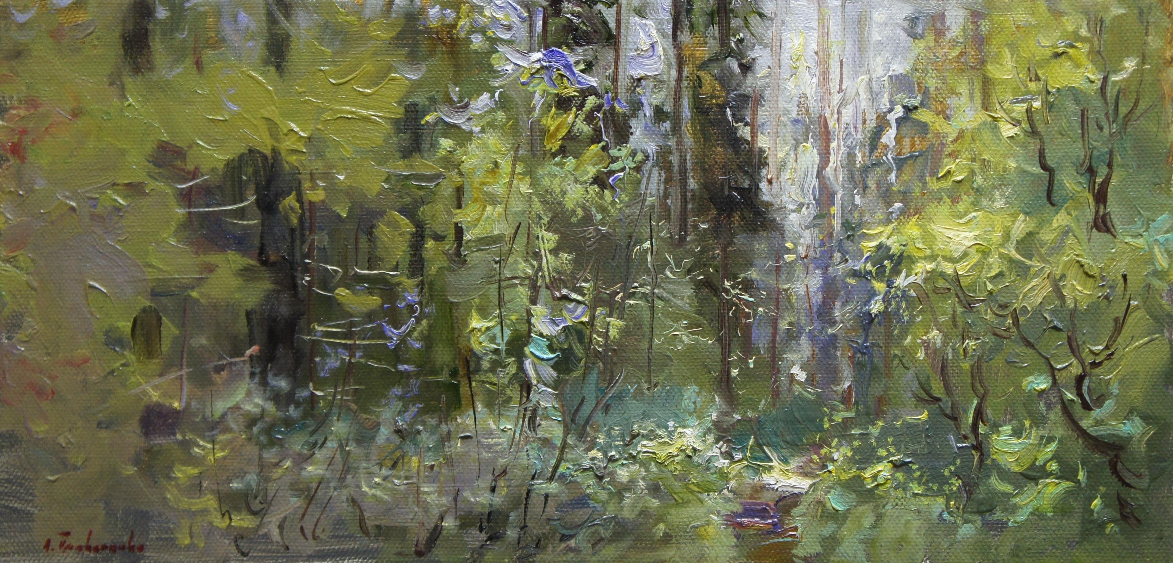 ,,Краски леса,, х.м 20х40 2016г.