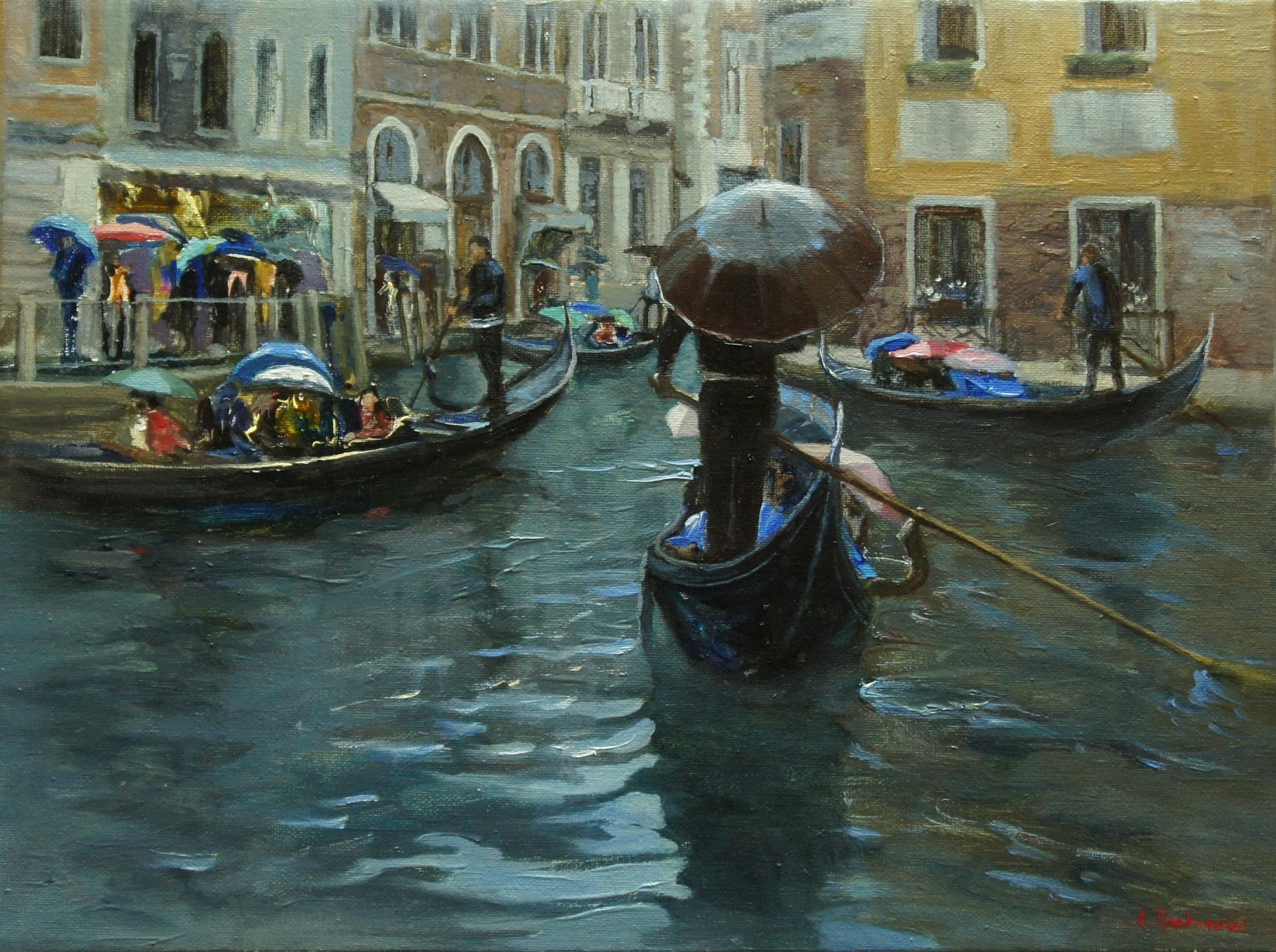 ,,Венецианское настроение,, х.м 30х40 2014г. - копия
