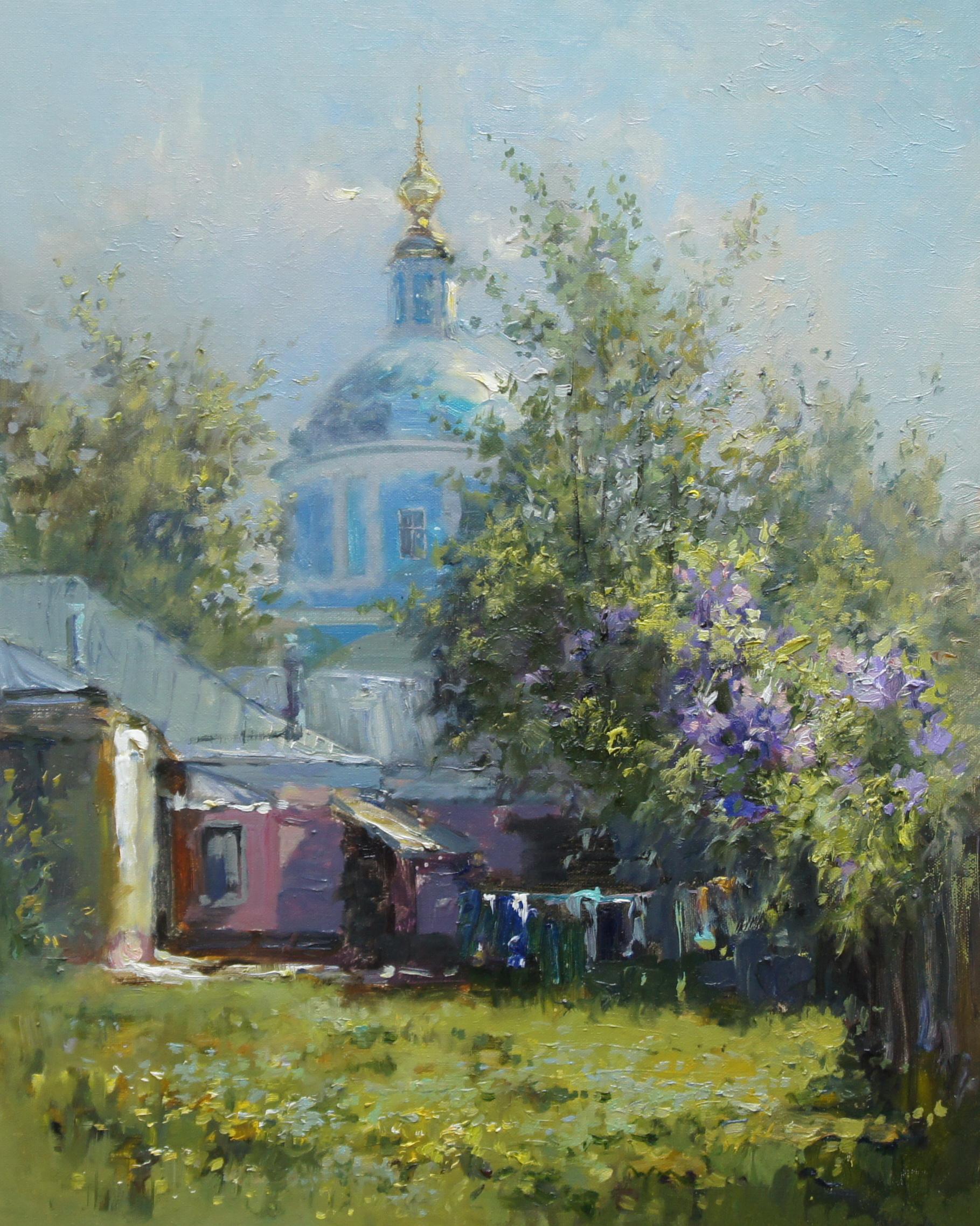 ,,Весна в Коломне,, х.м 50х40 2017г.