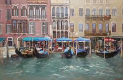 ,,Жизнь Венеции,, х.м 60х90 2013г.