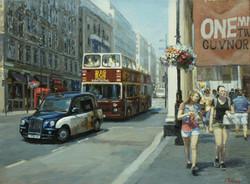 ,,Улица Лондона х.м 45х60 2014г.