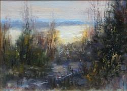 ,,Осеннее утро,, х.к 15х20 2014г.