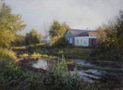 ,,Теплый вечер,, х.м 30х40 2013г.