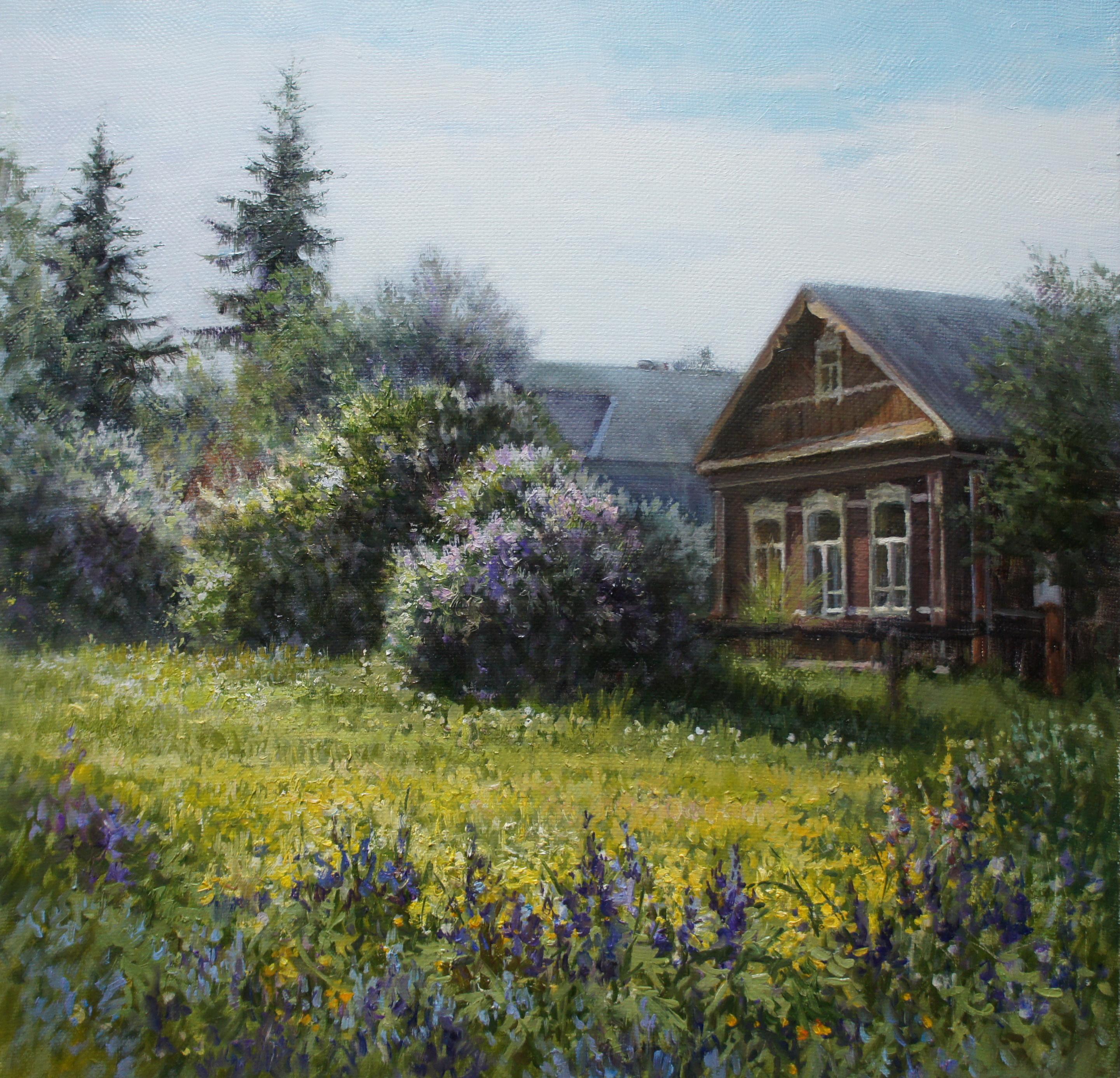,,Пора цветения,, х.м 60х60 2013г.