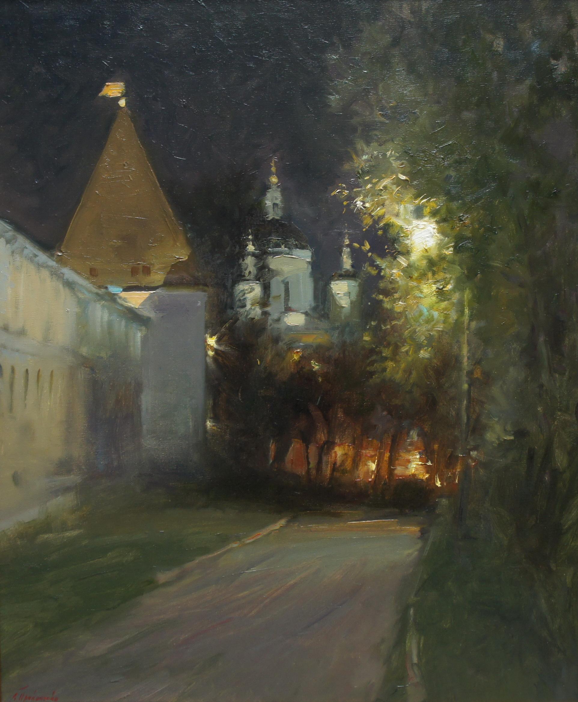 ,,Вечер у Рублевского Монастыря,, х