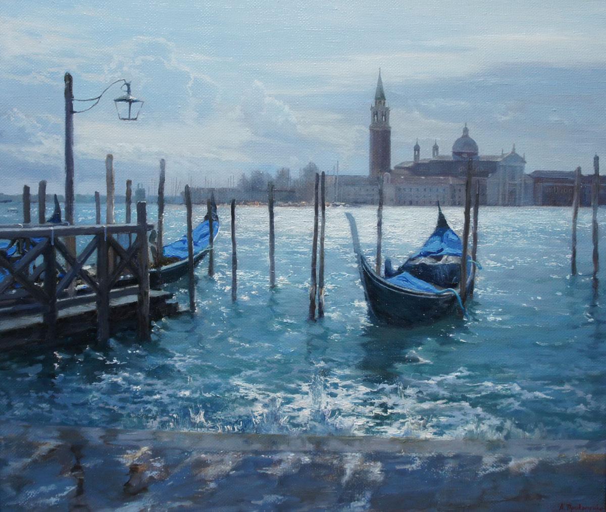 ,,Венецианский прибой,, х.м 60х70 2013г.