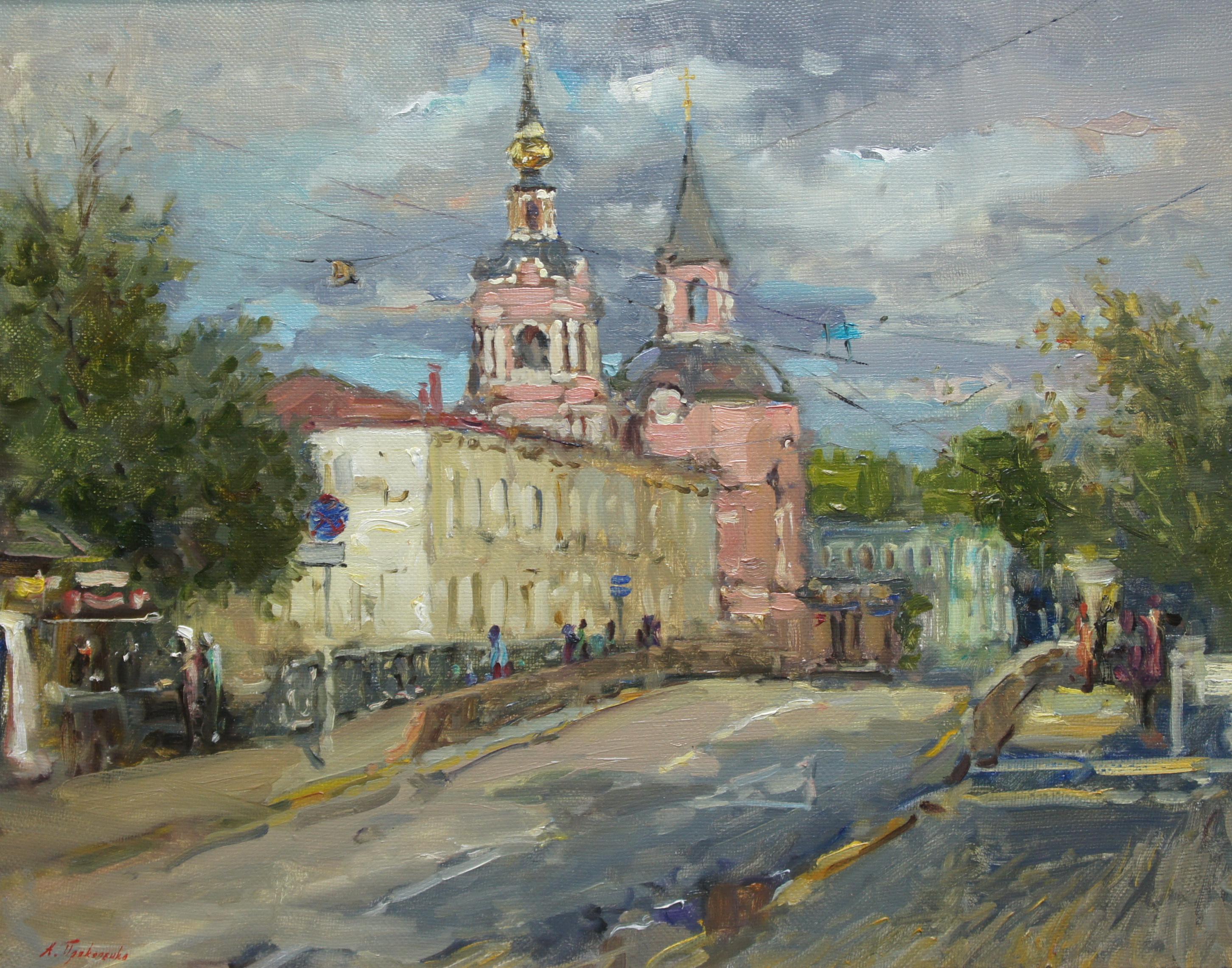 ,,Церковь Петра и Павло на Басманной х