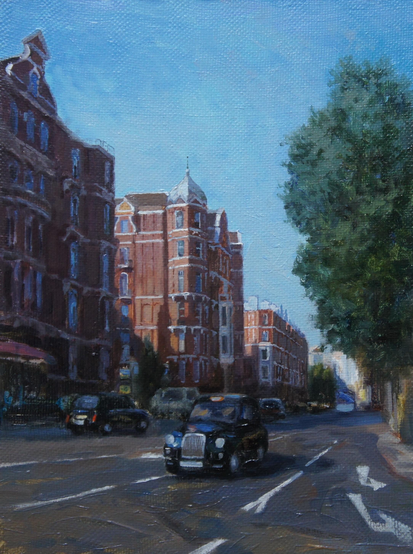 ,,Лондон. Старый Мэрилибон,, х.м30х40 2013г.