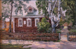 Дом родителей (С.А.Есенина) х.м.20.30