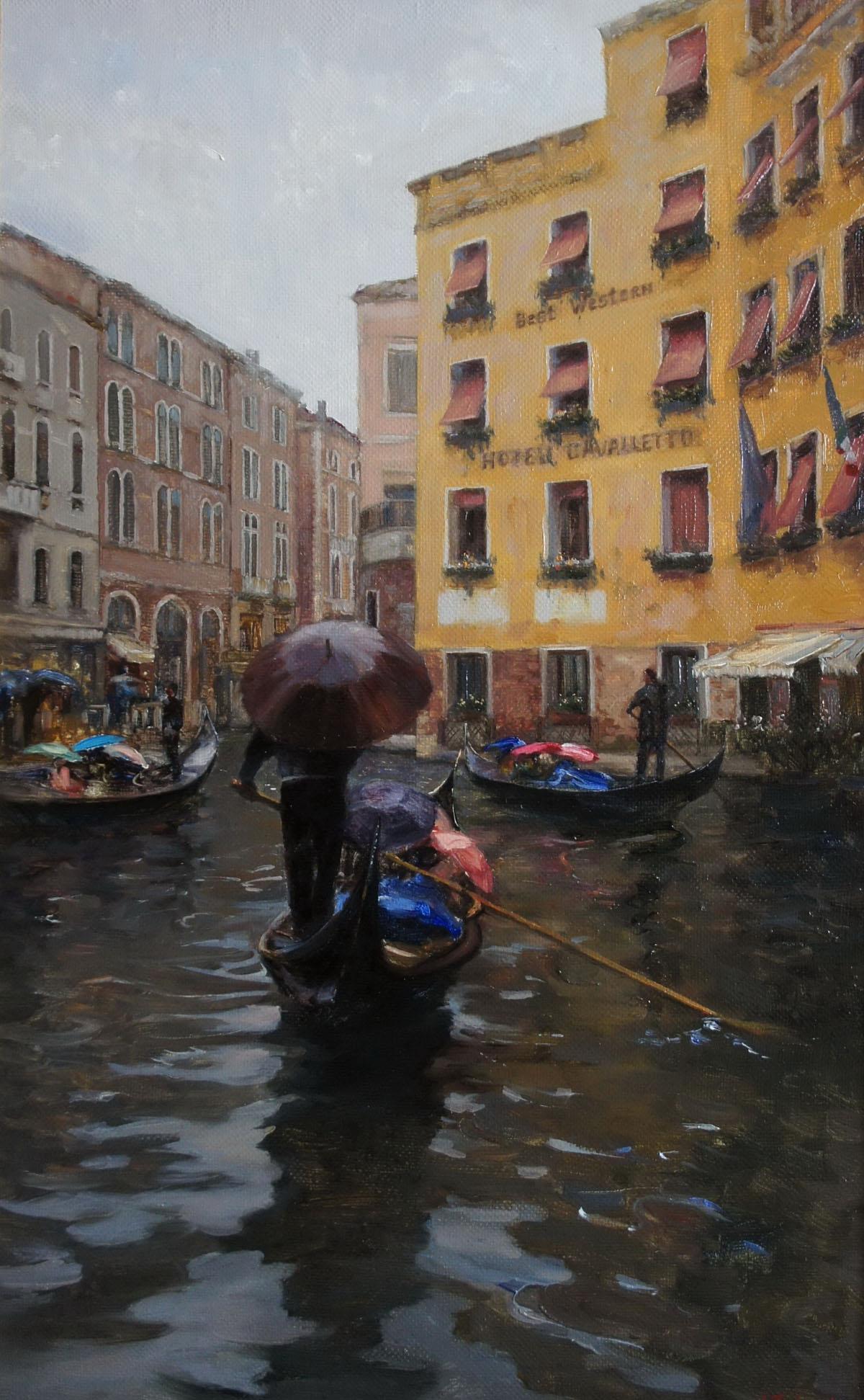,,Ненастная Венеция,, х.м 50х80 2013г.