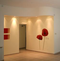 כניסה מעוצבת לבית