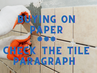 Buying on paper | Check the tile paragraph in the Mifrat