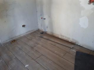 Come affrontare problemi di umidita' che sale dal pavimento