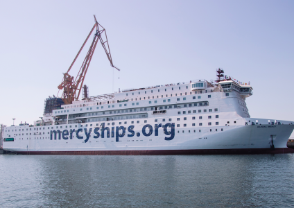 Mercy Ships selects 1st Degree to support announcement of new ship with PSA