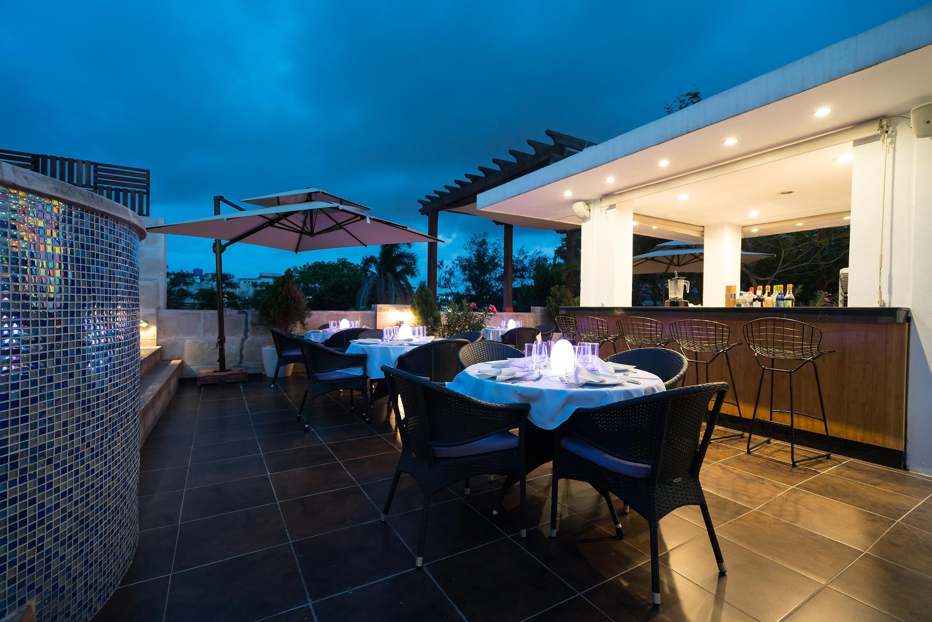 El Candil Boutique Hotel Rooftop Bar & Grill Havana Cuba