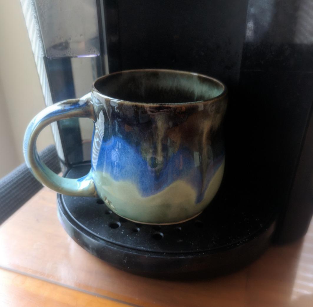Falling Granite Mug