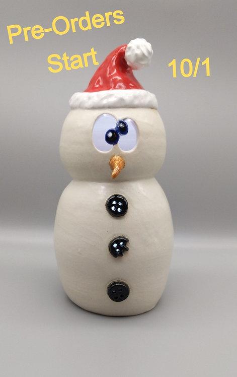 Dizzy Snowman Luminary