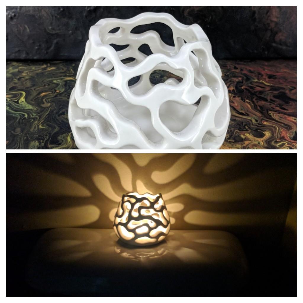 Porcelain Organic Luminary