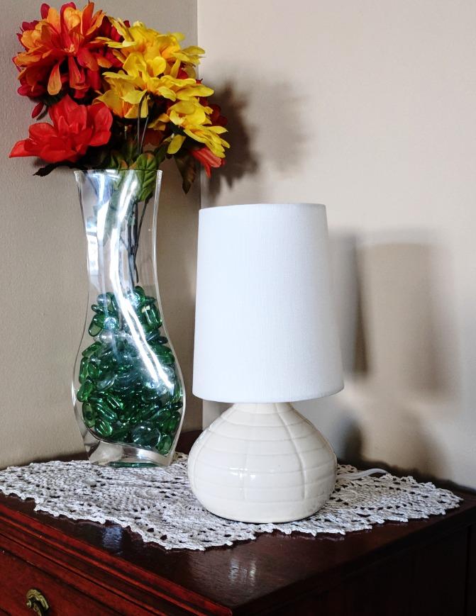 Segmented Teardrop Lamp