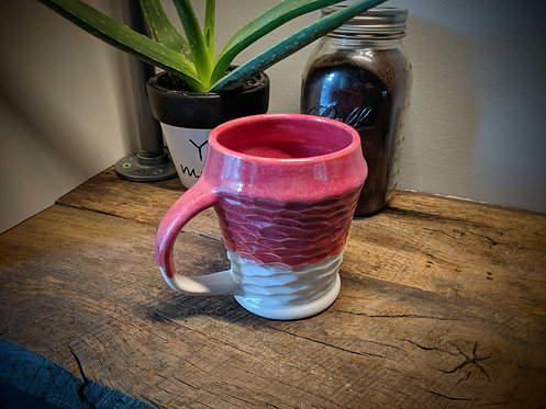 Coffee Mug in Shimmering Red
