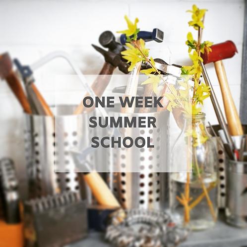 One Week Summer School - 23rd August - 28th August