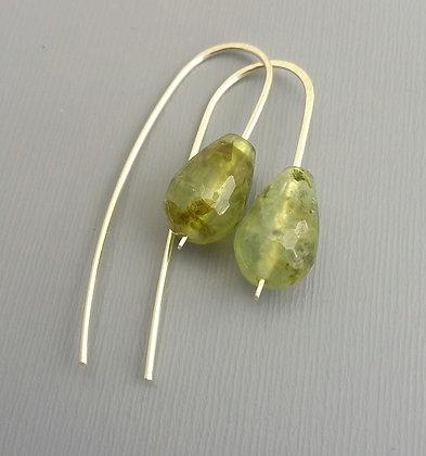 Moss Agate Earring
