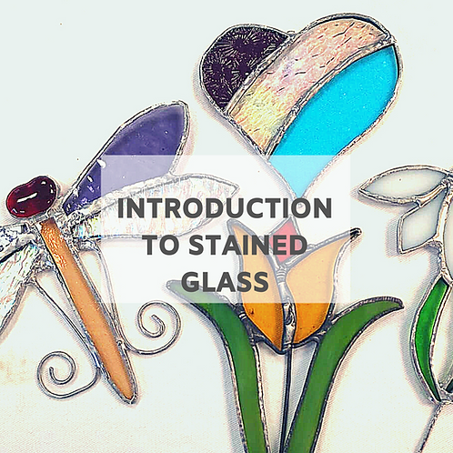 November / December Introduction To Stained Glass Six Week Evening Course