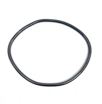 Round Section Irregular Hoop Bangle