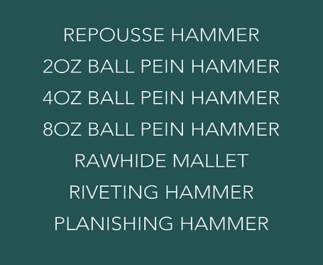 The 'ALL MY FAVOURITES' hammer kit