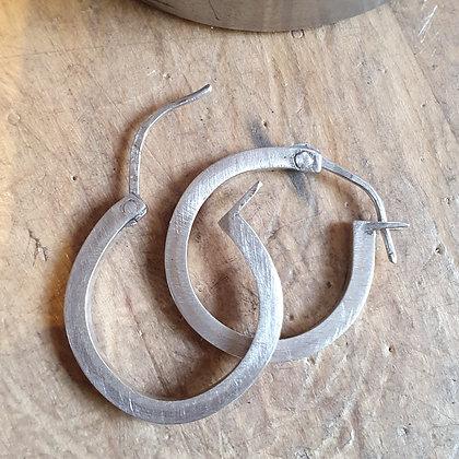 Hinged Hoop Earrings -  June 12th