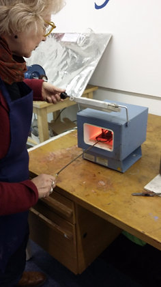 Enamelling On Copper - 27th March