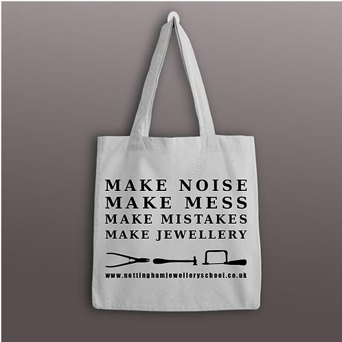 The 'Make Some Noise' NJS Tote bag