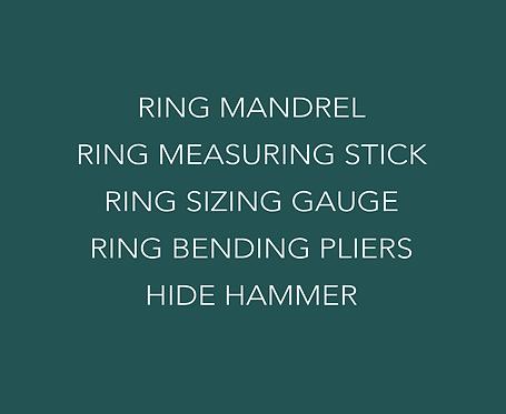 The ' RING LEADER' ring making kit