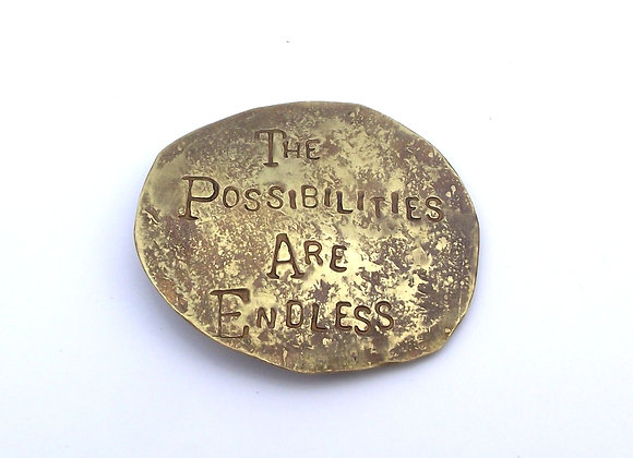 Endless Possibilities brooch