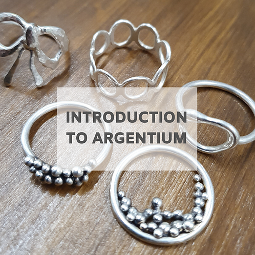 Introduction To Argentium Silver - 26th June