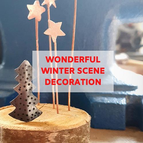 Christmas Scene Decoration - 19th December
