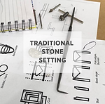 traditional stone setting