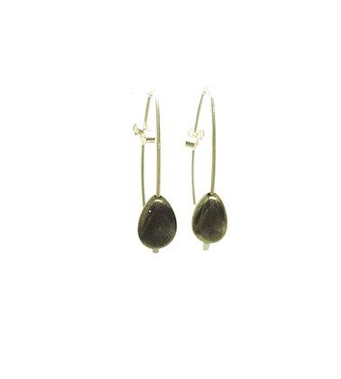 Pyrite Earring