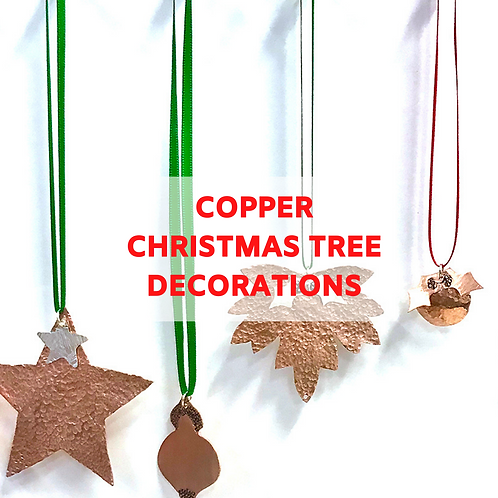 Christmas Copper Decorations - 5th December Afternoon