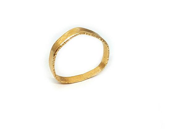 Irregular Gold Ring