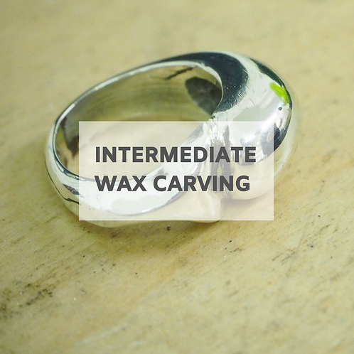 Intermediate Wax Carving - 10th July