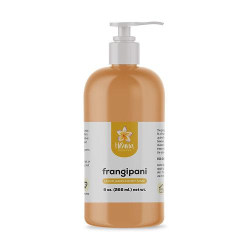Frangipani Liquid Hand & Body Soap