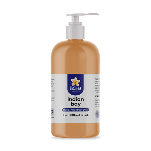 Indian Bay Liquid Hand & Body Soap