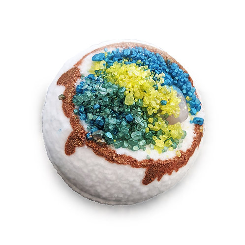 Hidden Gem Geode (Vincy) - Bath Bomb