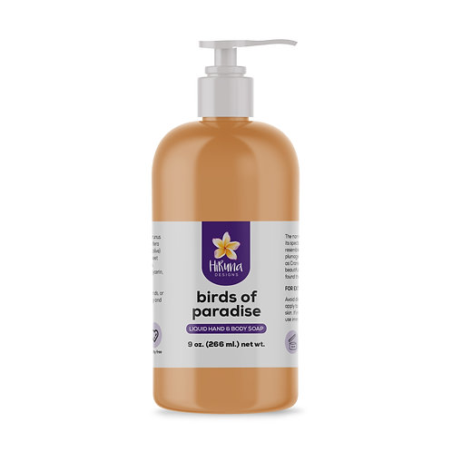 Bird of Paradise Liquid Hand & Body Soap